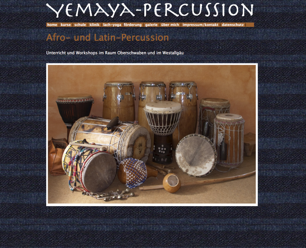 yemaya percussion